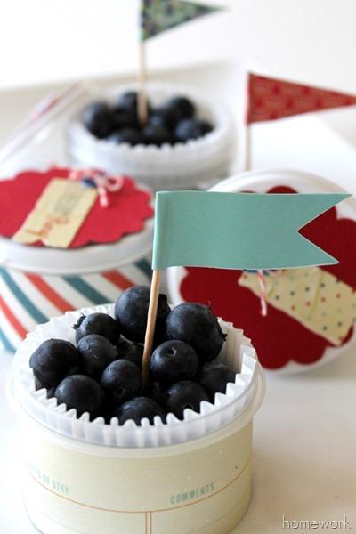 Easy Patriotic Berry Cups via homework03
