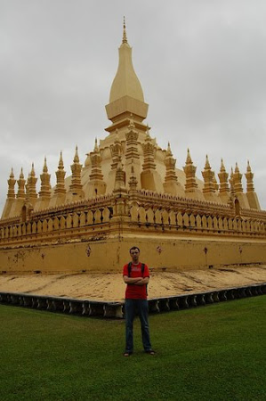 Sights of Laos: Great Stupa of Vientiane