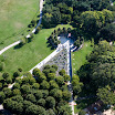 Aerial view of Korean Veterans Memorial