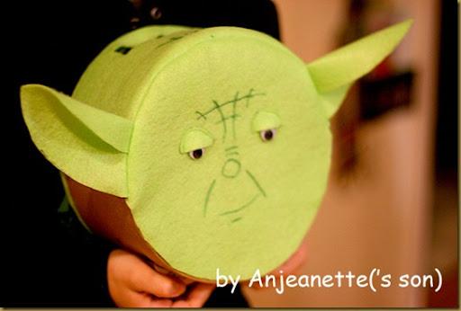 A Yoda Valentine Box