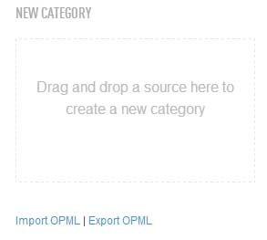 Exportar marcadores de Feedly (actualización)