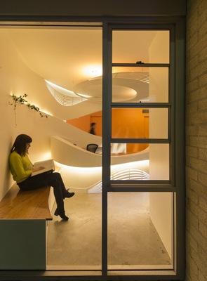 arquitectura contemporanea centro medico
