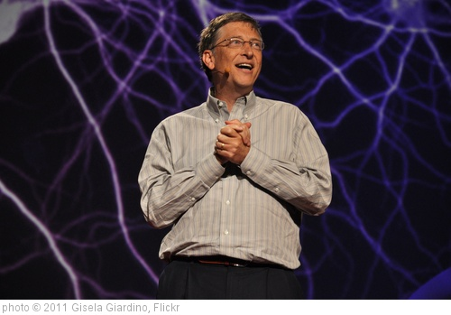 'Bill Gates. TED2011' photo (c) 2011, Gisela Giardino - license: http://creativecommons.org/licenses/by-sa/2.0/