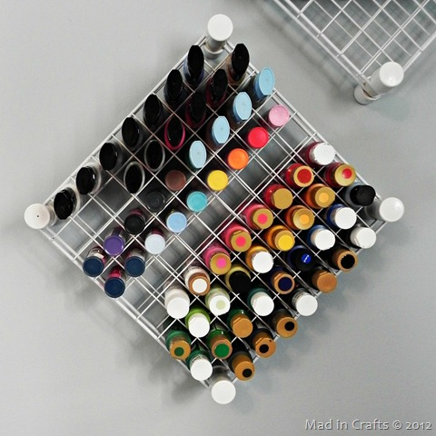 fabric and acrylic paints