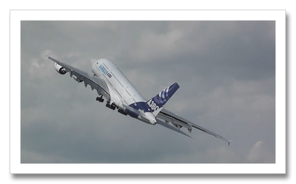 A380-800F Tranport Aircraft