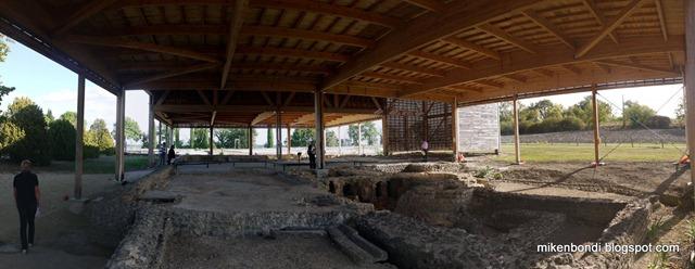 La Villa de Séviac - baths