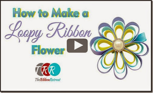 How-To-Make-A-Loopy-Ribbon-Flower