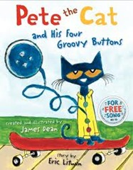 Pete the Cat and his Four groovey buttons