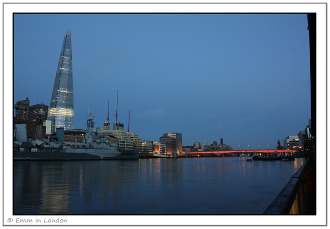 The Shard and London Bridge at Dawn