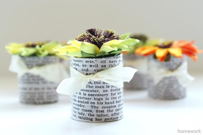 Paper Flower Favors 1