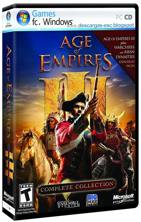Age of Empires III Complete Collection Protphet-Www.descargas-esc.blogspot.com