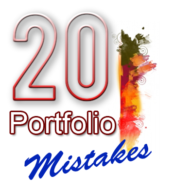 portfolio website design mistakes