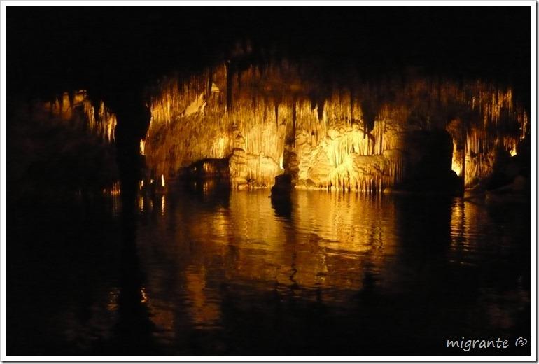 reflejos - cuevas del drach