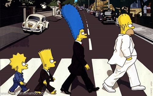 wallpapers os simpsons desbaratinando papel de parede the simpsons  (9)