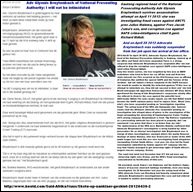 BREYTENBACH ADV GLYNNIS HEAD NATIONAL PROSECUTION AUTHORITY INVESTIGATING ZUMA MALEMA AND MDLULI SHOTS FIRED ASSASSINATION ATTEMPT