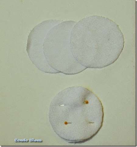 how to make terry cloth makeup remover pads