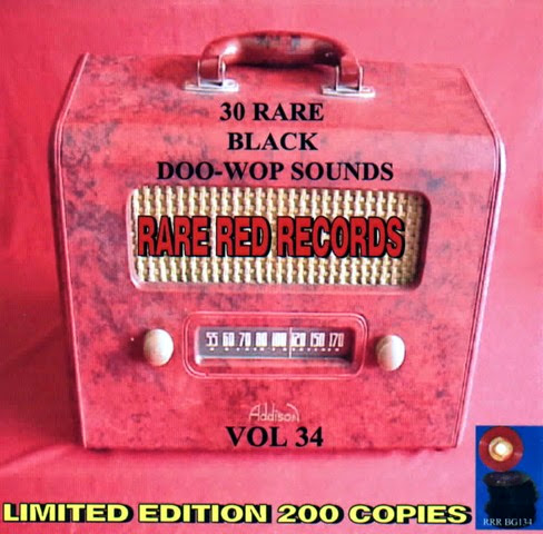 Rare Black Doo-Wop Sounds Vol. 34 - 31 - Front