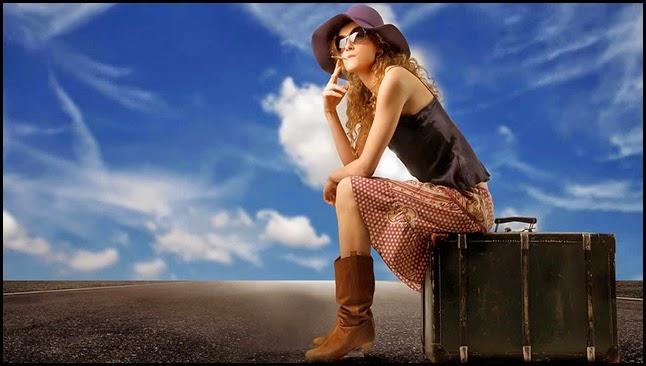 Mujer esperando