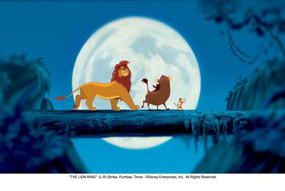 """THE LION KING""  (L-R) Simba, Pumbaa, Timon  ©Disney Enterprises, Inc.  All Rights Reserved."