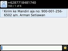 SMS gak jelas