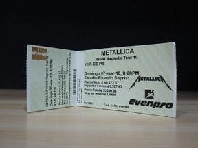 Metallica Ticket!!!