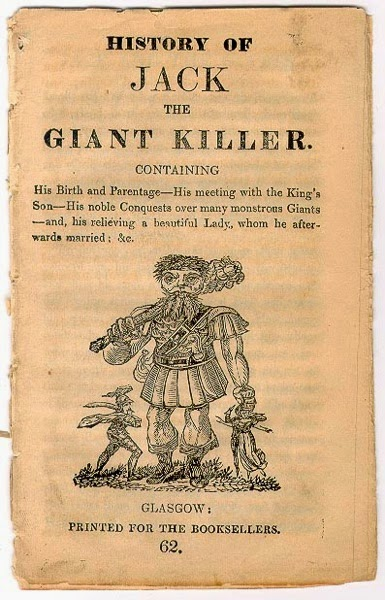 Chapbook Jack the Giant Killer