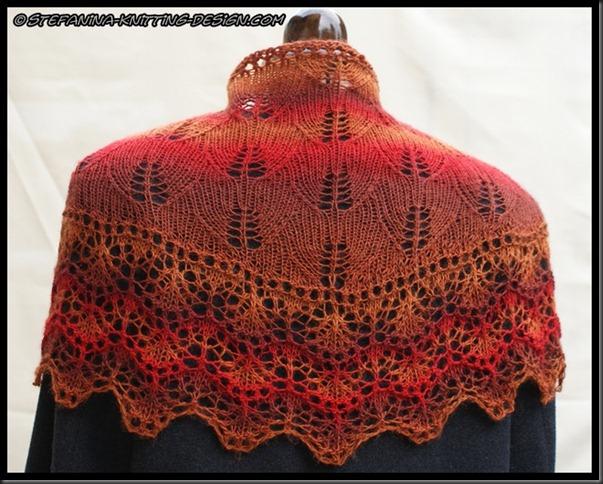 Soir d'automne shawlette (11)
