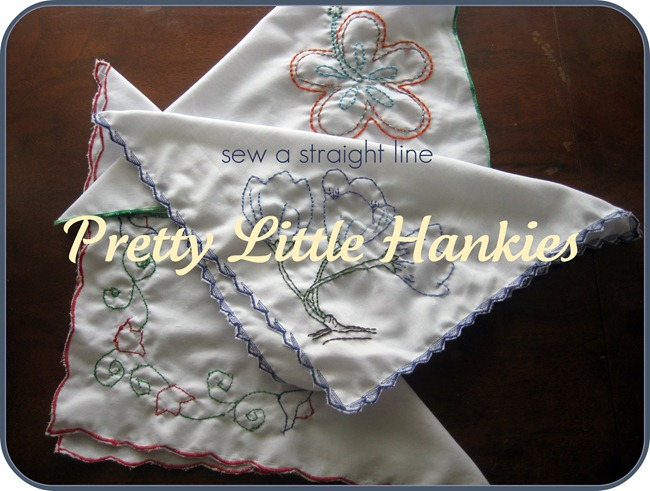 pretty little hankies