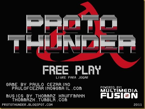 ProtoThunder Alphaタイトル