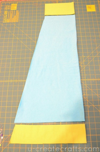 Library Skirt Tutorial Step 4a