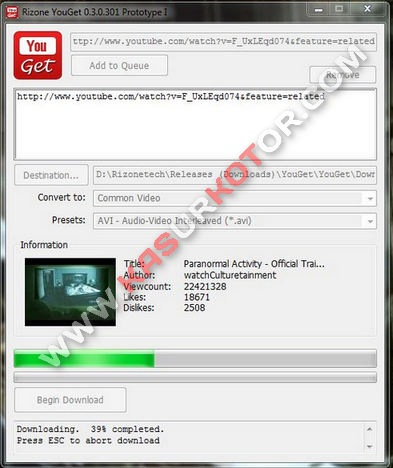 YouGet - YouTube Downloader Simple, Kecil dan Mudah Digunakan
