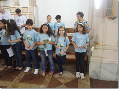Crianças da Capela do Bairro de Fátima