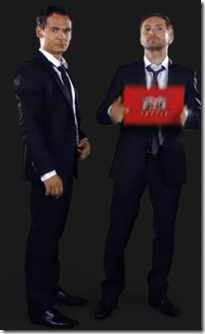 Razvan si Dani prezinta x Factor antena 1