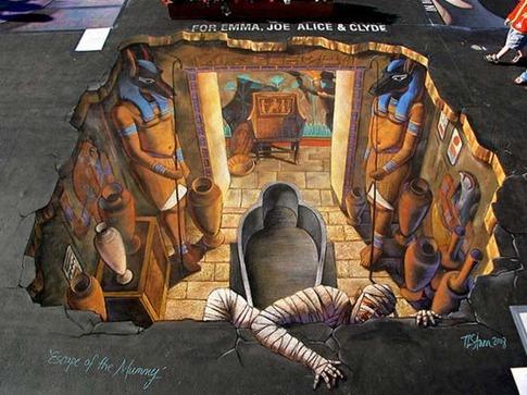 2. Escapar de la Momia