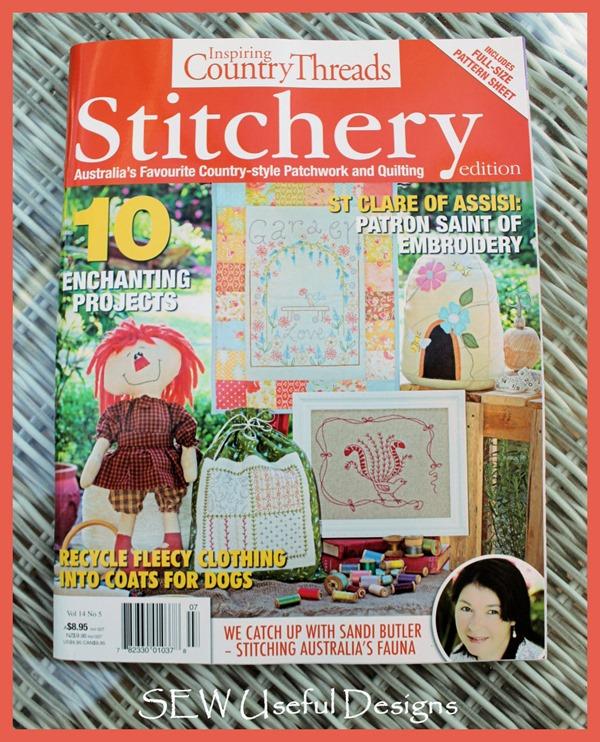 Garden stitchery mag 1