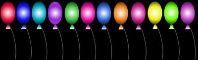 balloons-black