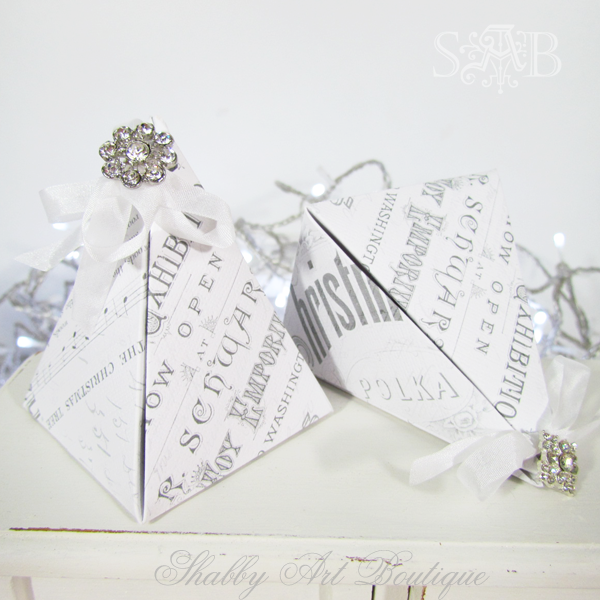 Shabby Art Boutique Pyramid Box 3