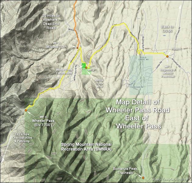 MAP-Wheeler Pass Rd (East of Wheeler Pass)