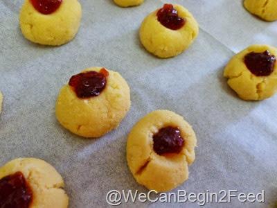 Dec 7 Coconut Flour Thumbprint cookies 004
