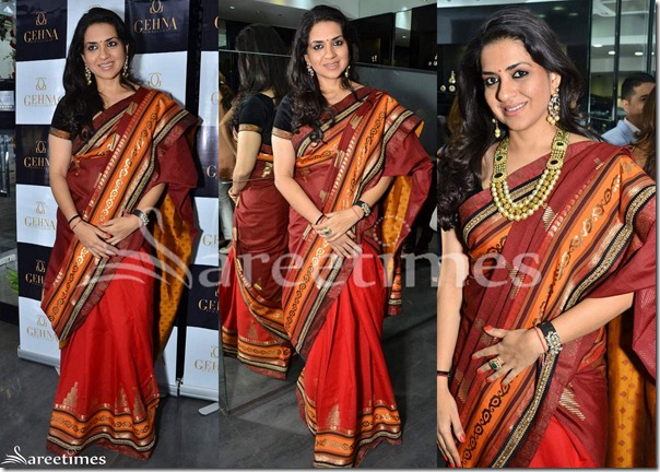 Shaina_NC_Half_and_Hlaf_Saree