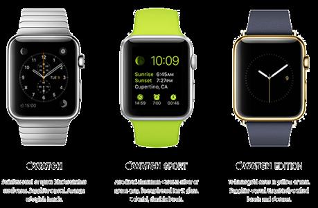 Apple Watch valikoima - Klikkaa suuremmaksi