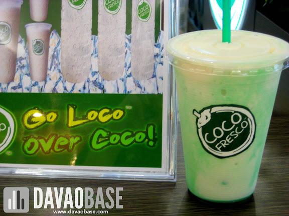 Go Loco over Coco Fresco's Pandan Coco Shake