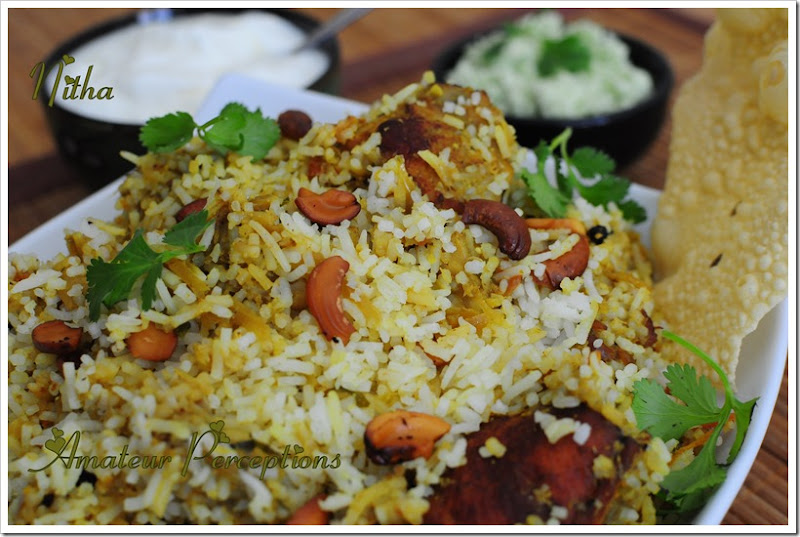 Chicken Biriyani 3