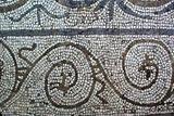Mosaico de los pajaros - detalle