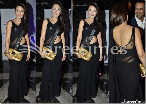 Black_Georgette_Saree