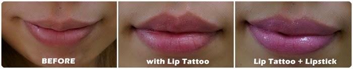 shizen lip tattoo review