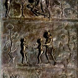 04 - Puertas de bronce de San Miguel de Hildesheim (detalle)