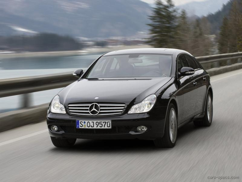 2006 mercedes benz cls class sedan specifications for 2007 mercedes benz cls