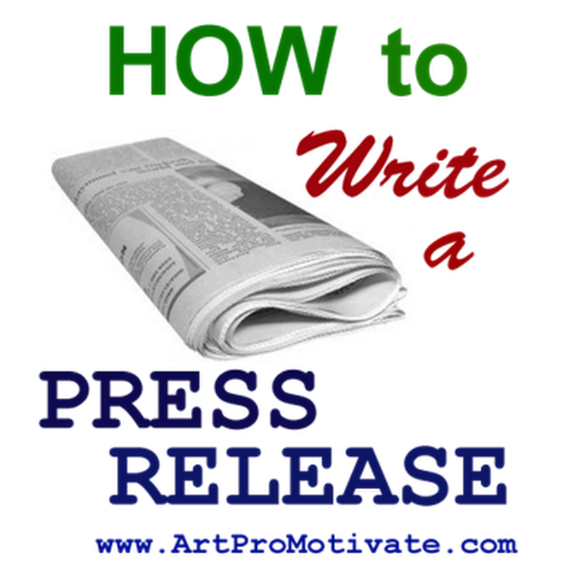 How to Write Press Releases for Artists