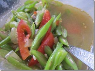 sauteed baguio beans, 240baon